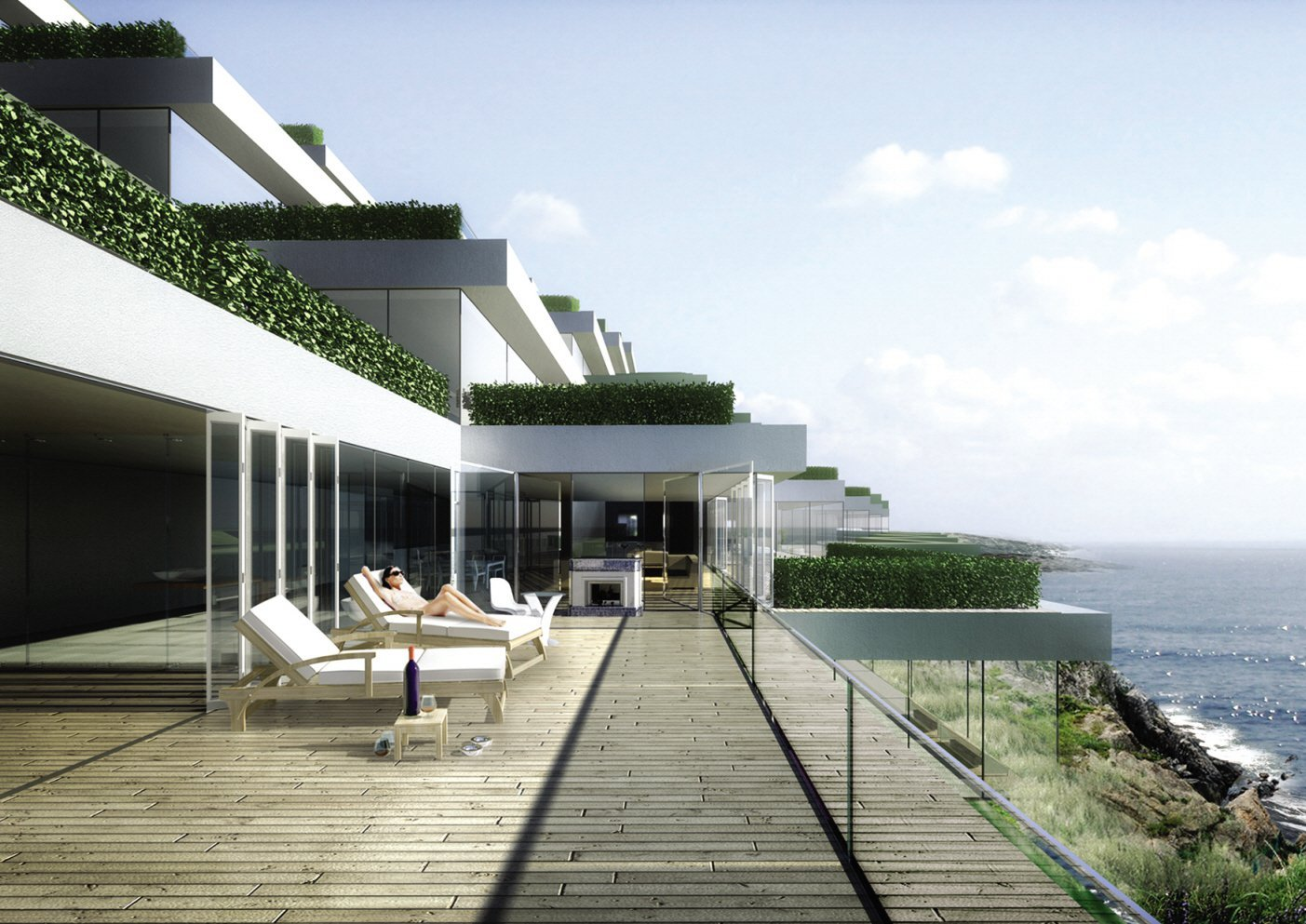 Gallery of marine terrace resort yamasaki ku hong for Hotels on the terrace