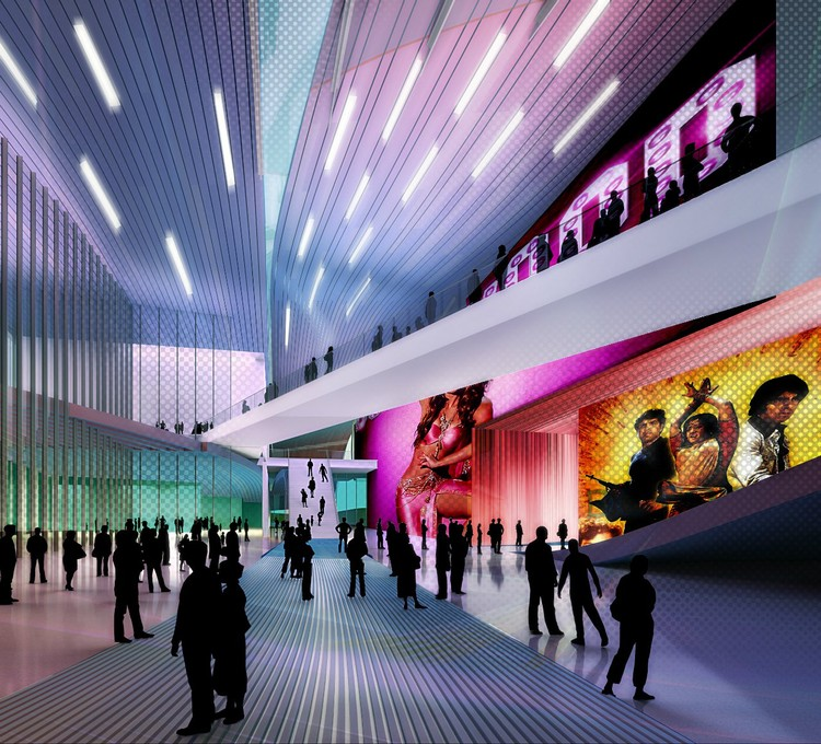 Design Concept For Bollywood Museum In Film City Yazdani