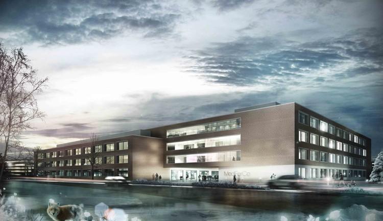 Architekten In Münster medforce research center winning henn architekten archdaily