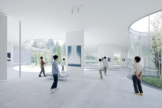 Hiroshi Senju Museum / Ryue Nishizawa,© Iwan Baan