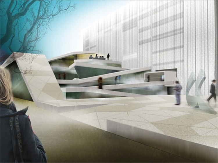 Alberto catalano to design the new arts and culture house for Architektur rampe