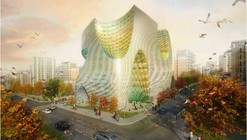 Propuesta Concurso Bolsa de Teheran / LAVA