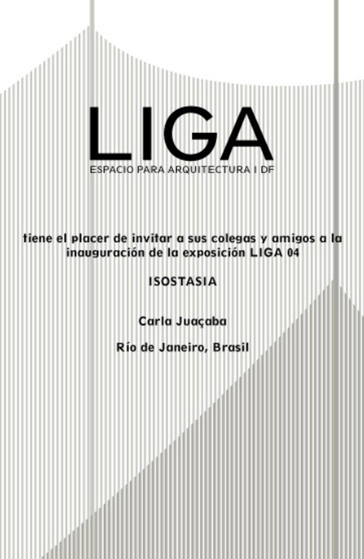 Carla Juacaba Tag Plataforma Arquitectura # Muebles Liga Trace