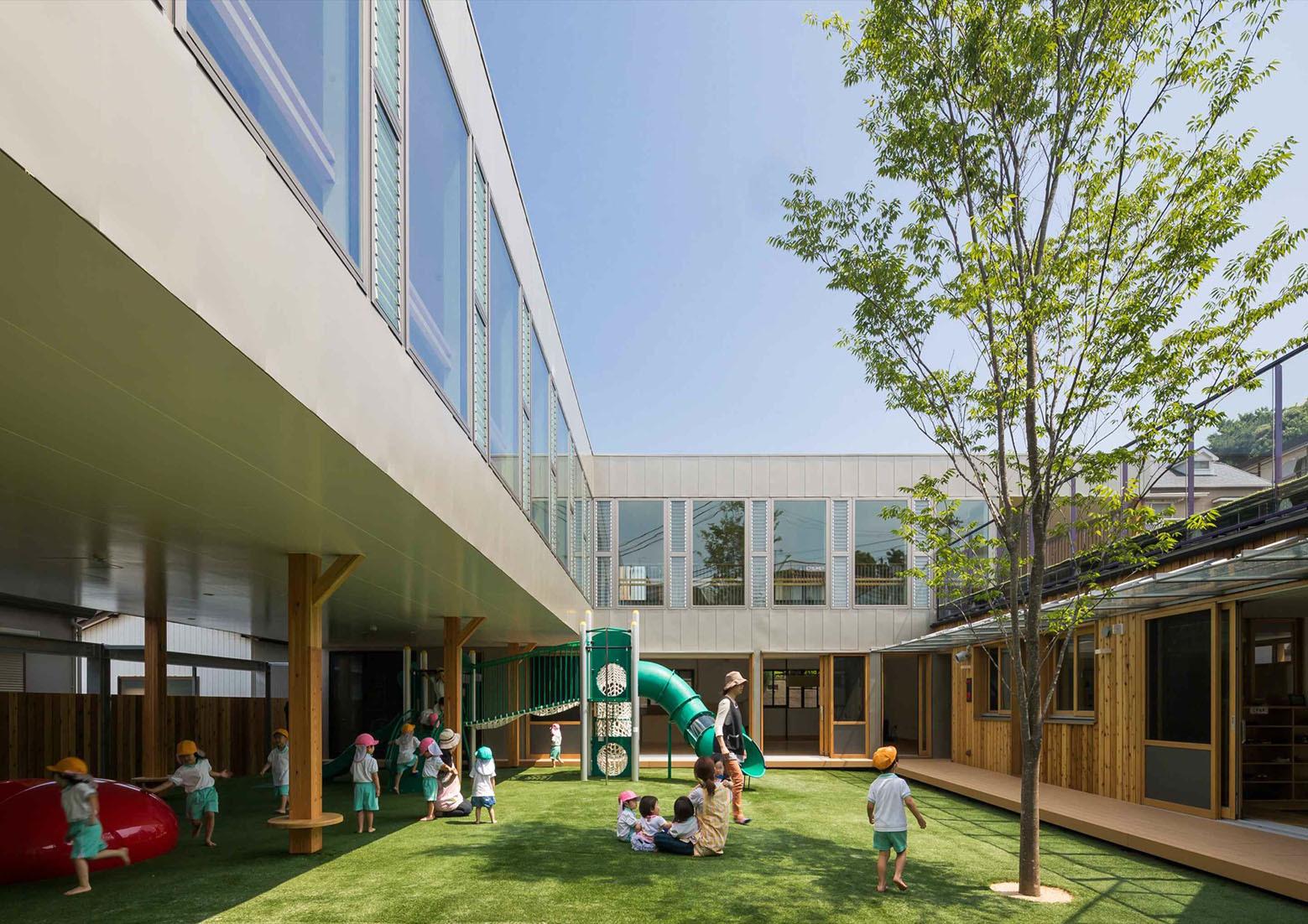 Takeno Nursery Tadashi Suga Architects Archdaily