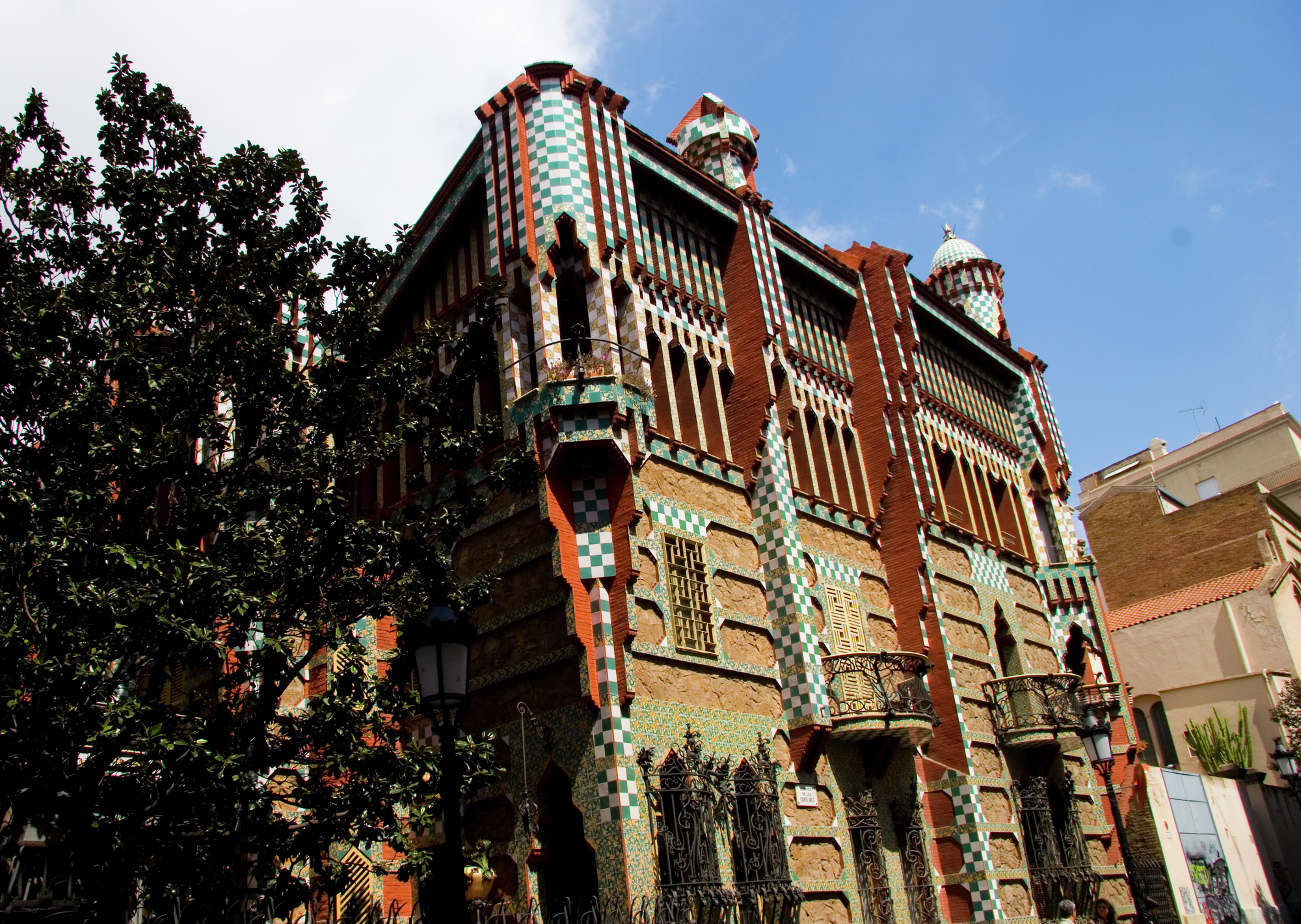 Gaud s casa vicens to open as a museum in 2016 archdaily - Casa vives gaudi ...