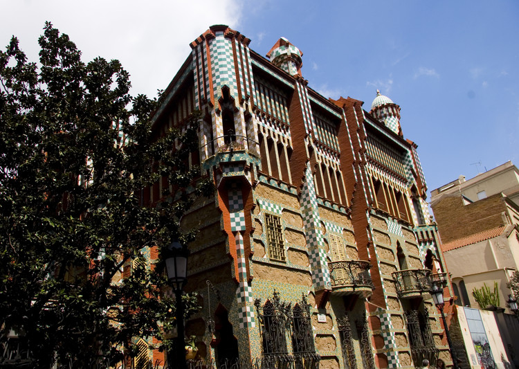 Gaudí's Casa Vicens to Open as a Museum in 2016, Casa Vicens. Image © Eric Huang [Flickr CC]
