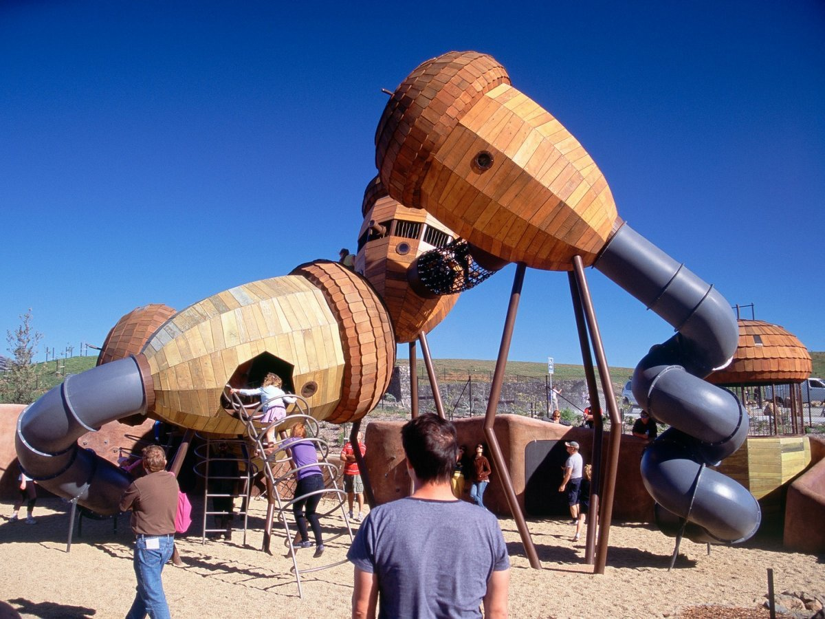 gallery of 19 playgrounds that prove architecture isn t just for