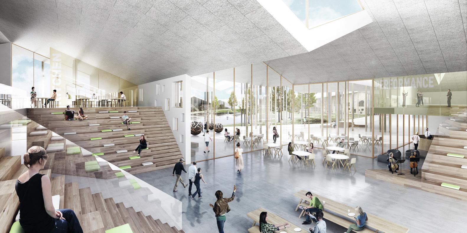 CEBRA Wins Competition To Design Smart School In RussiaCourtesy Of Architecture