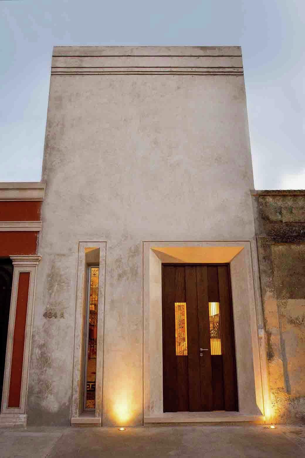 Gallery of b h 45 h ponce arquitectos 2 - Fachadas exteriores de casas ...