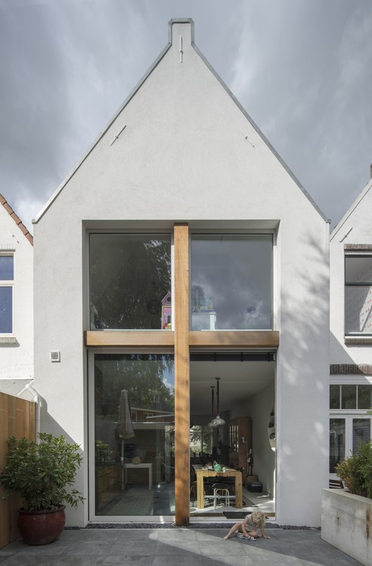 Stretched House / Ruud Visser Architecten, © René de Wit