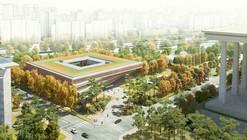 Haeahn Architecture vence concurso para a nova Central Nacional de Imprensa de Seul