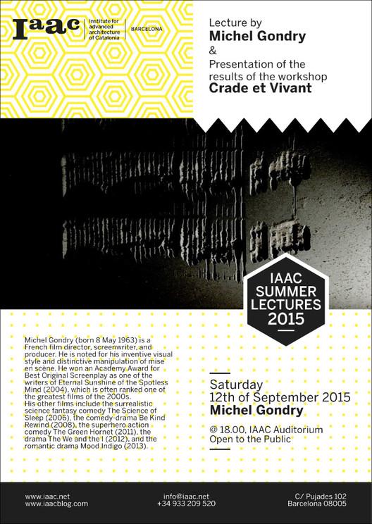 IaaC Summer Lectures 2015: Michel Gondry / Barcelona