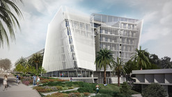o2a's Proposed Tel Aviv University Building Controls Natural Light and Wind for a Sustainable Solution
