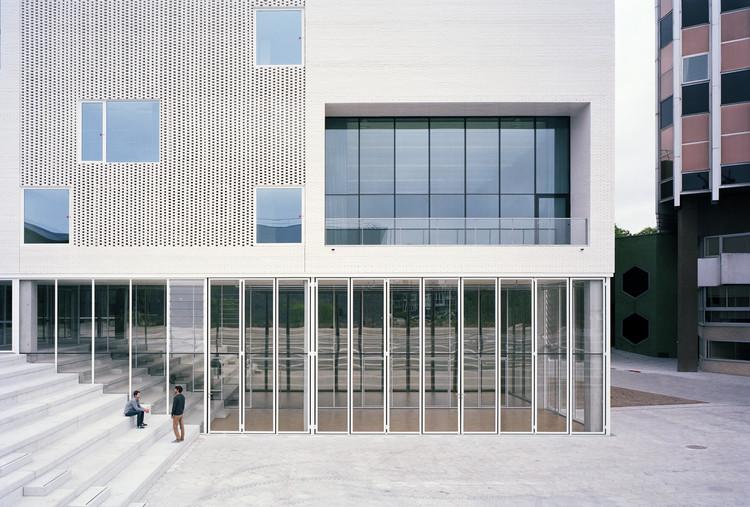 Conservatório de Nantes e Acadêmia de Artes Cênicas / RAUM + L'Escaut Architectures, © Audrey Cerdan
