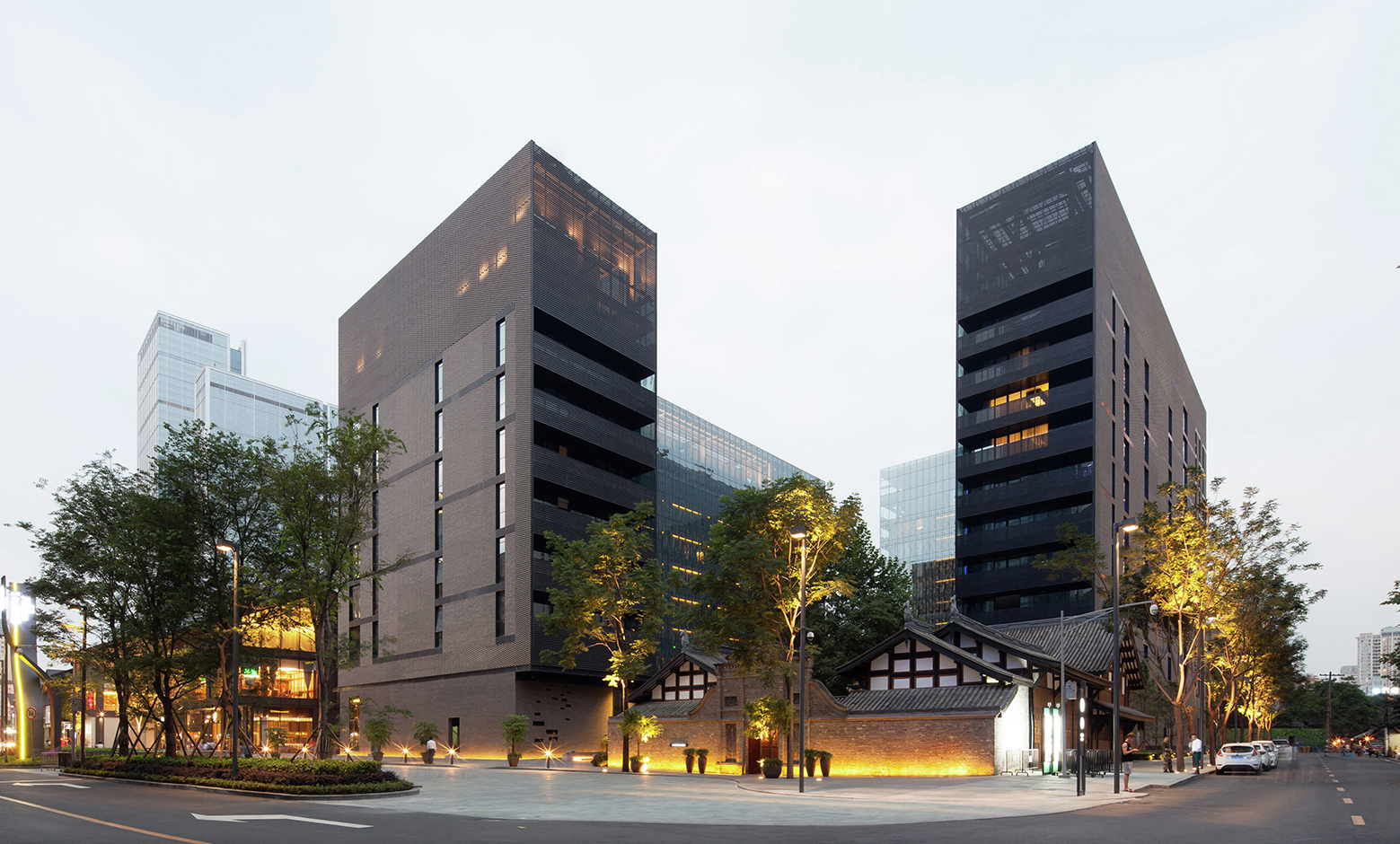 The Temple House Make Architects Archdaily