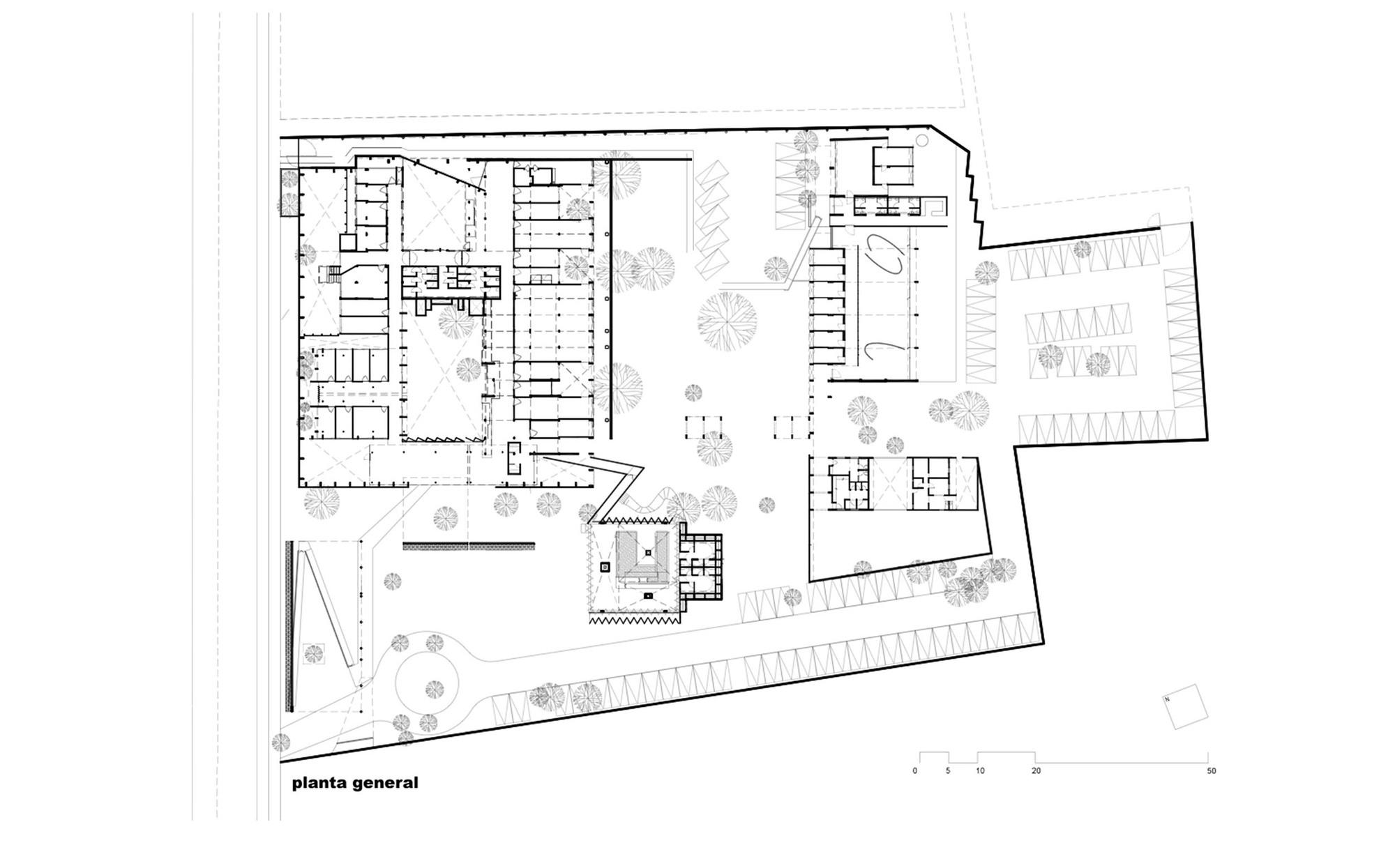Galer a de centro de rehabilitaci n infantil de la telet n for Plan de arquitectura