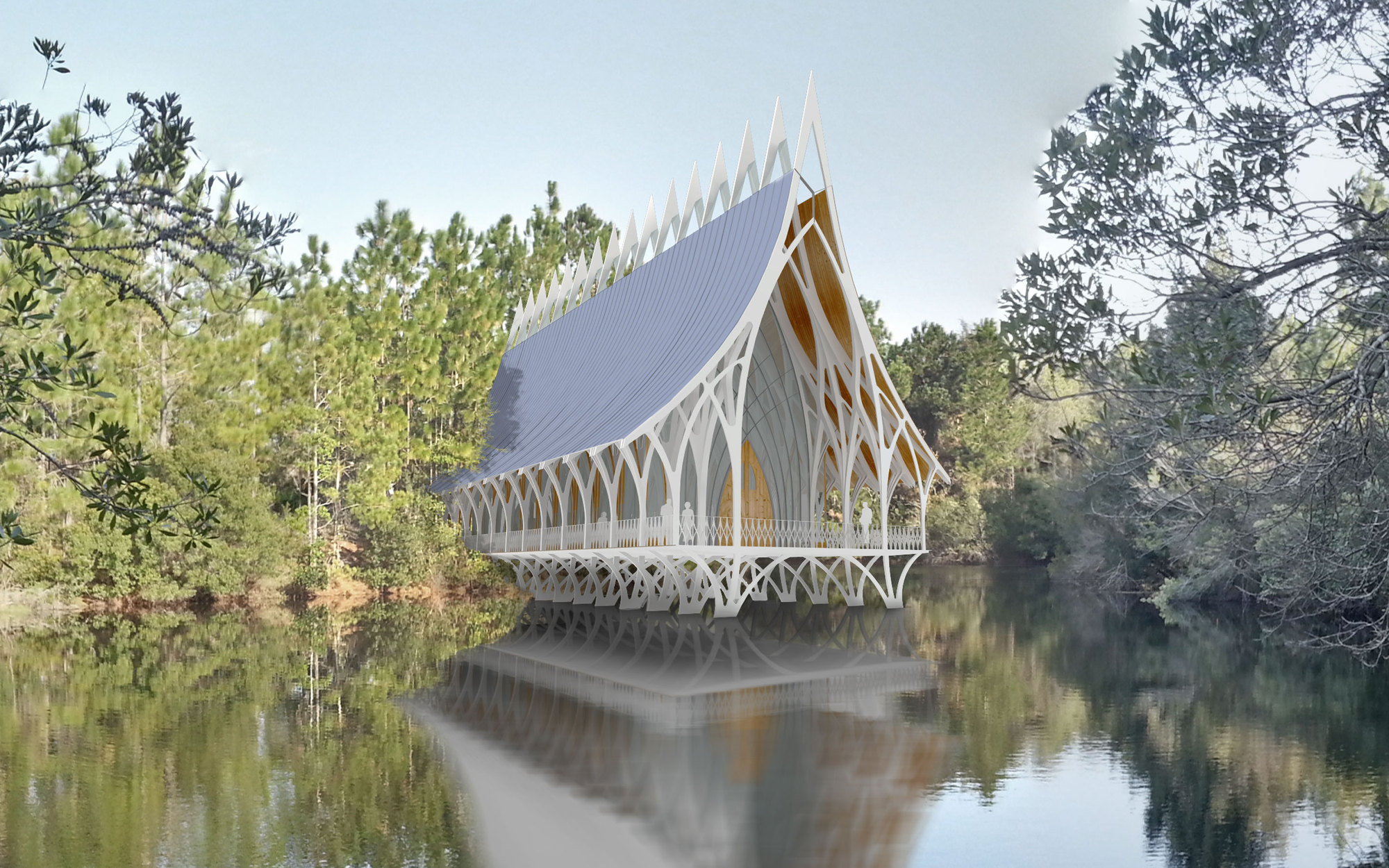 Gallery Of University Of North Florida Interfaith Chapel