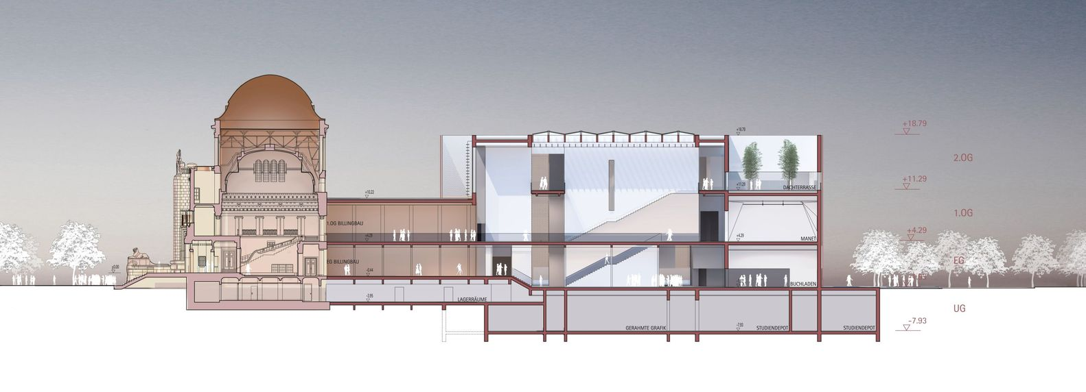 Gallery Of Kunsthalle Mannheim Winning Proposal Gmp Architekten 6