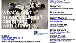 What's Next in Workspaces? Designing with Change Event