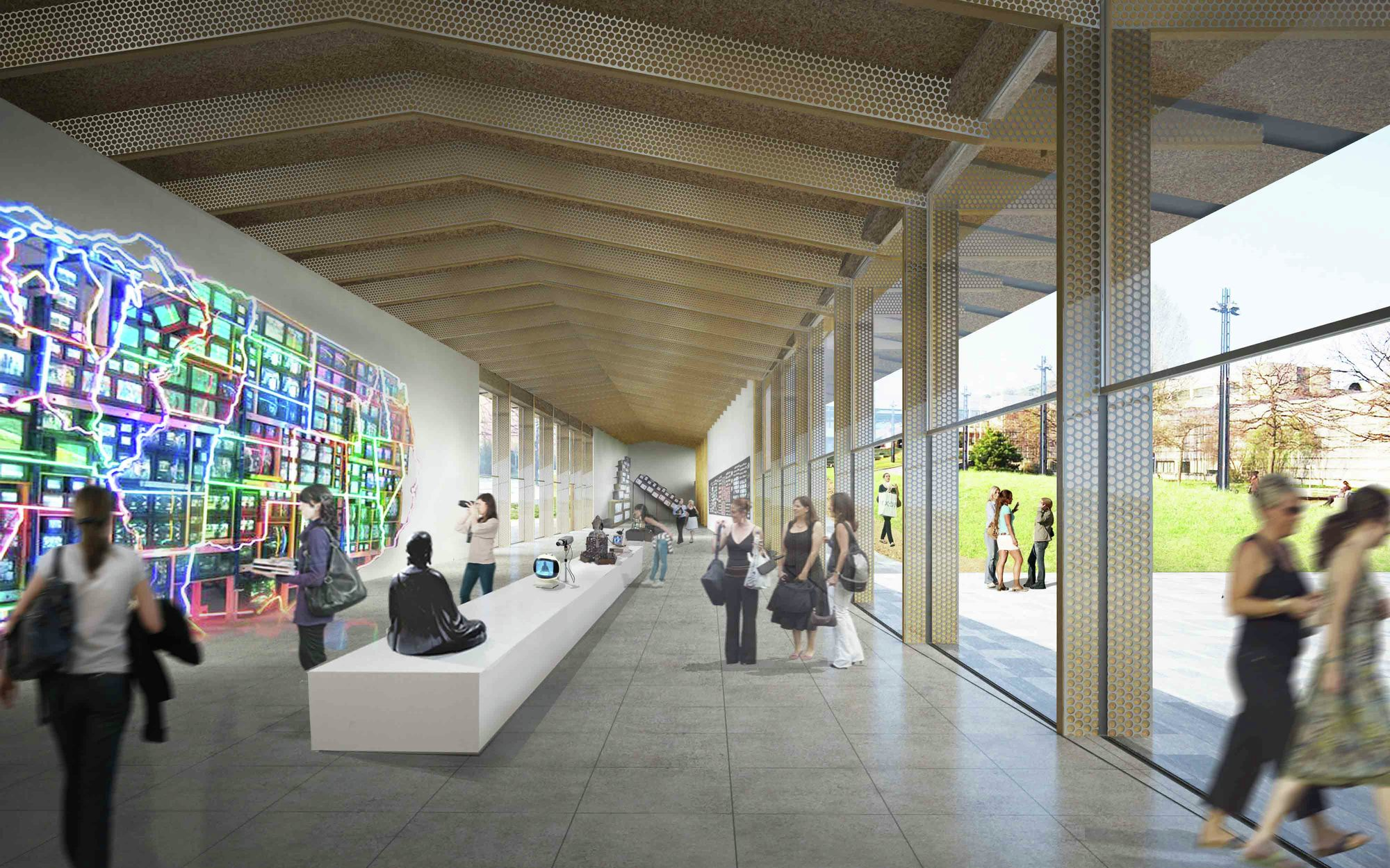 Under One Roof Experimental Pavilion Competition Winning