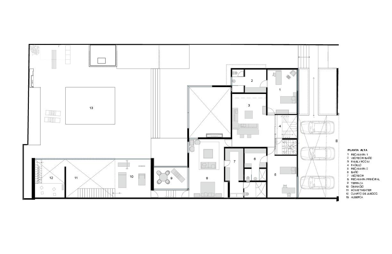 Planos casa planta baja gallery of plano casa estilo - Planos de casas planta baja ...