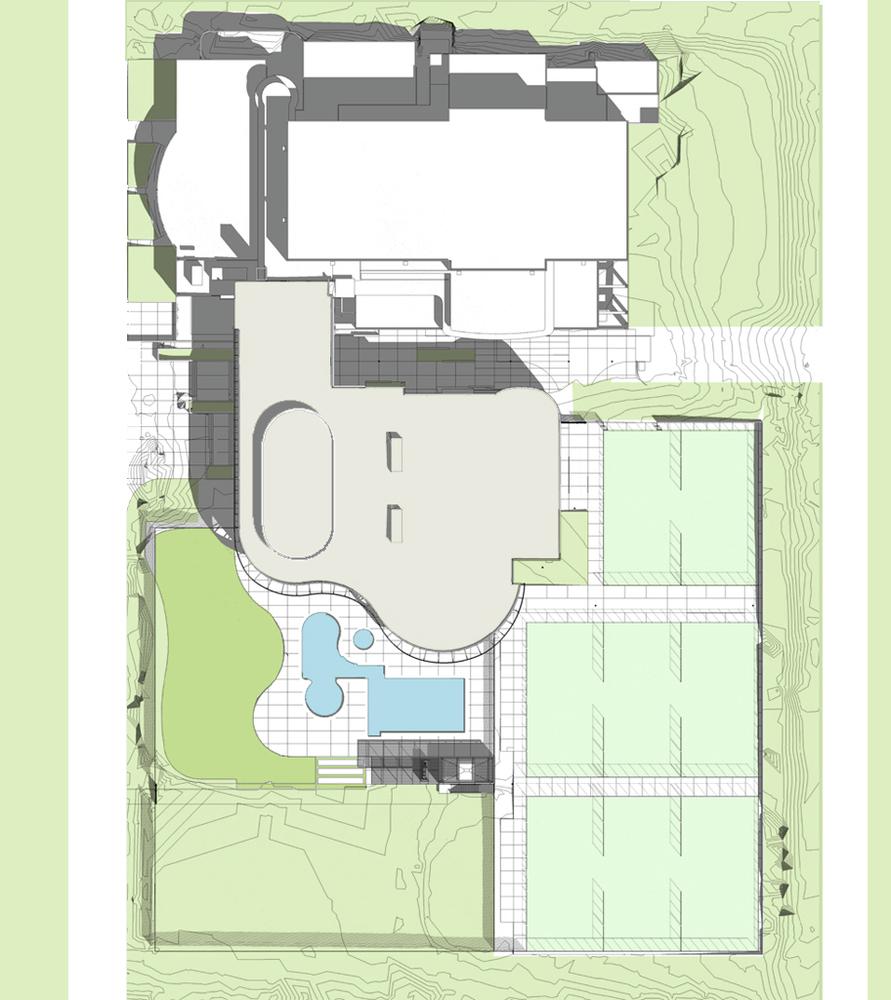 University Of California Riverside Student Recreation Center Expansion /  Cannon Design,site Plan