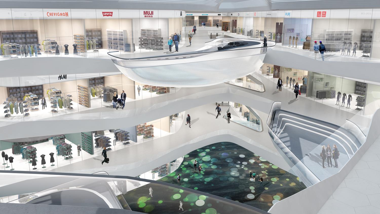 Gallery of Summer International Shopping Mall / 10 Design - 11