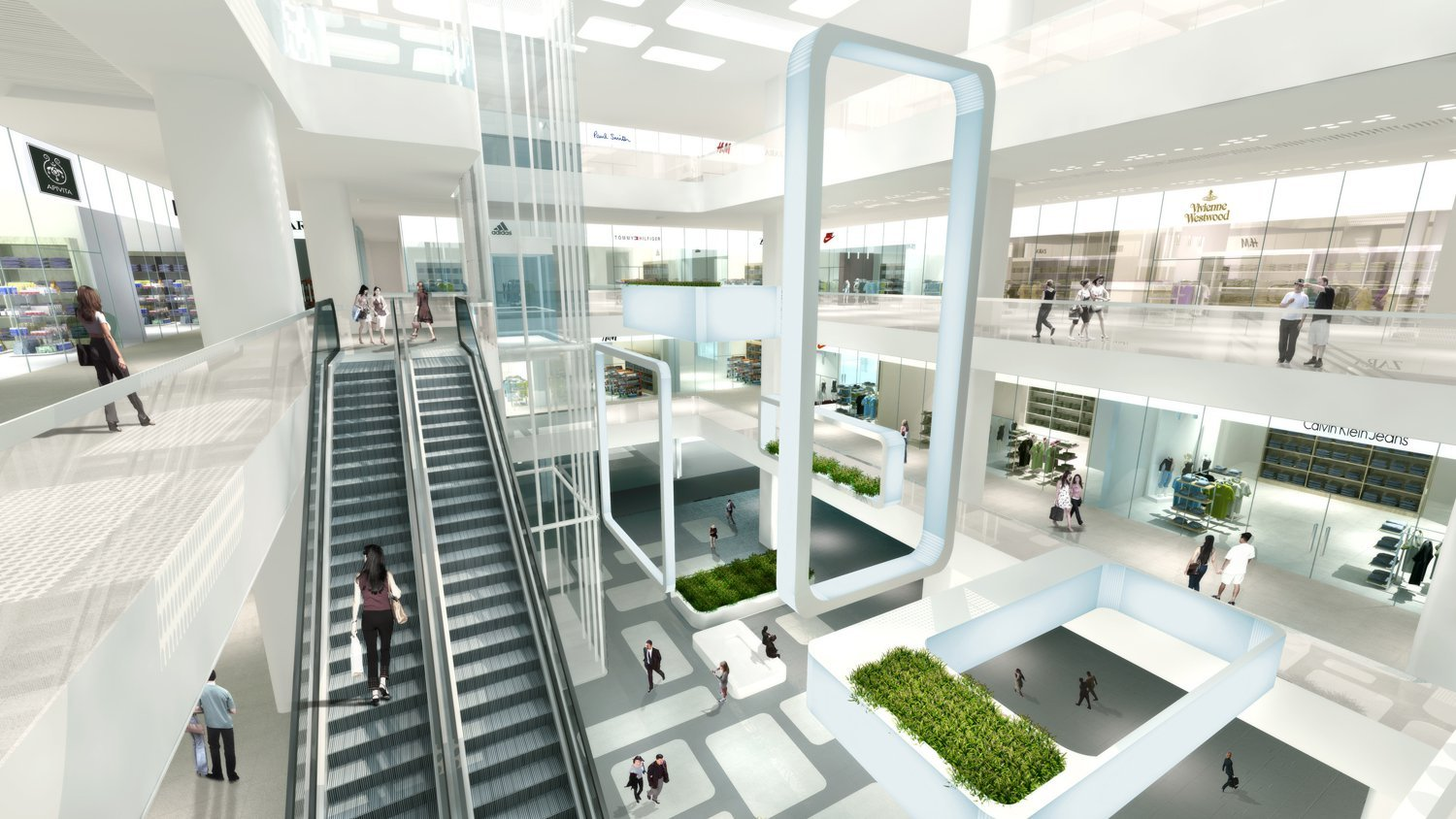 Architectural Design Software Summer International Shopping Mall 10 Design Archdaily