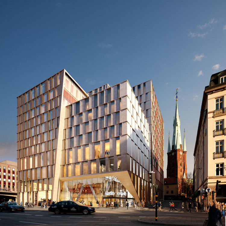 Stockholm City Station 3xn Architects Archdaily