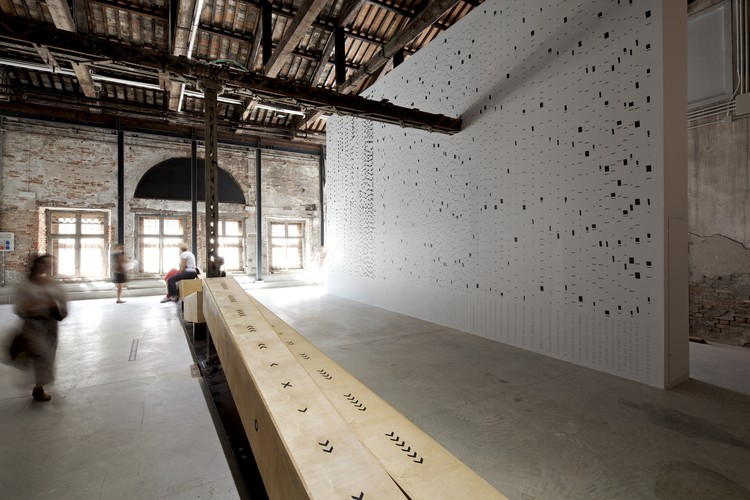 Venice Biennale 2012: Shifting Grounds (Beyond National Architecture) / Ireland Pavilion, © Nico Saieh
