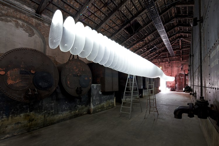 """Venice Biennale 2012: Originaire / China Pavilion, """"Sequence"""" by Shao Weiping © Nico Saieh"""