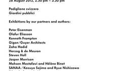 "Venice Biennale 2012: ""Lars Müller Publishers - Book Fever"""