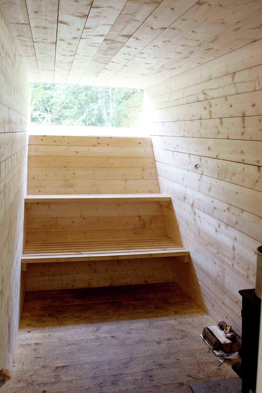 Sauna Details In 2019: Gallery Of Sauna / Formløs Architecture