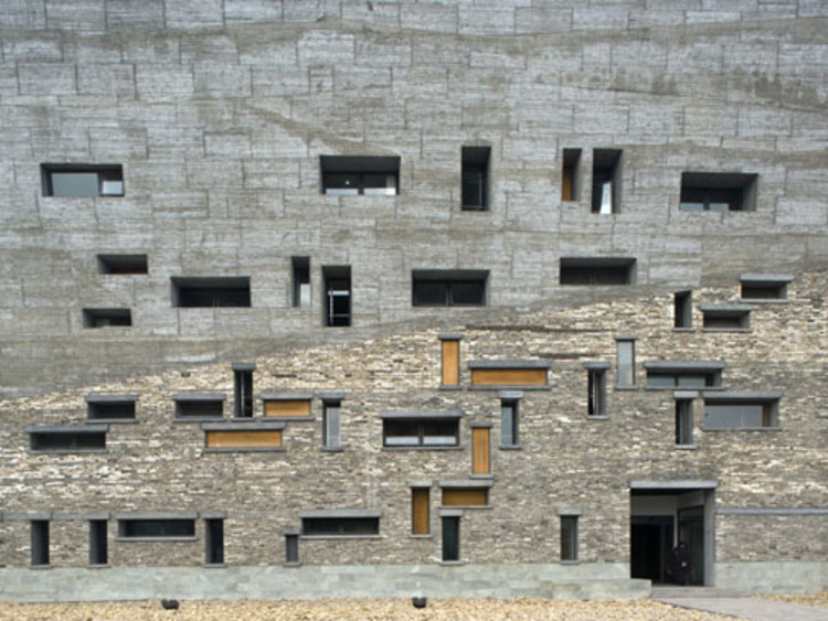 Wang shu tag archdaily page 2 courtesy of triennale di milano malvernweather Image collections