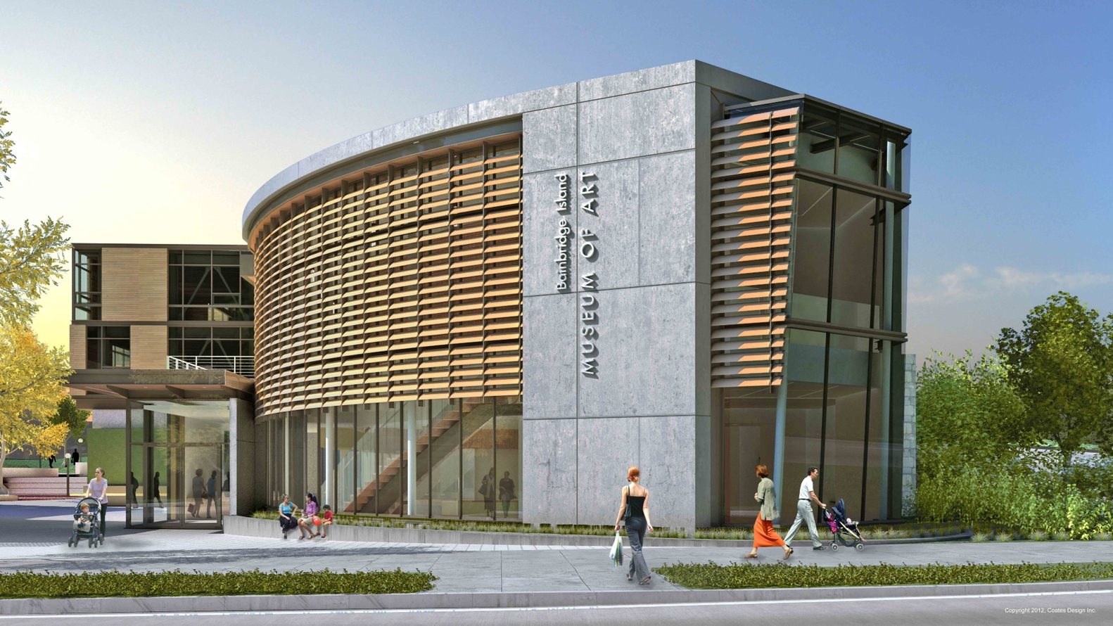 Gallery Of Bainbridge Island Museum Of Art Coates Design