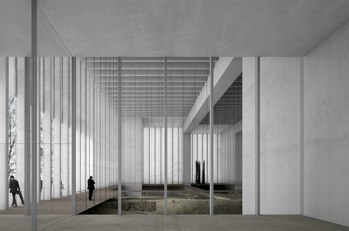 Foyer Des Art : Gallery of musée des beaux arts david chipperfield