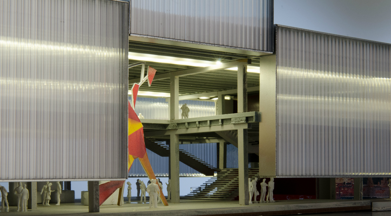 Cool Gallery Of Oma To Design New Home For Garage In Moscow 1 Download Free Architecture Designs Rallybritishbridgeorg