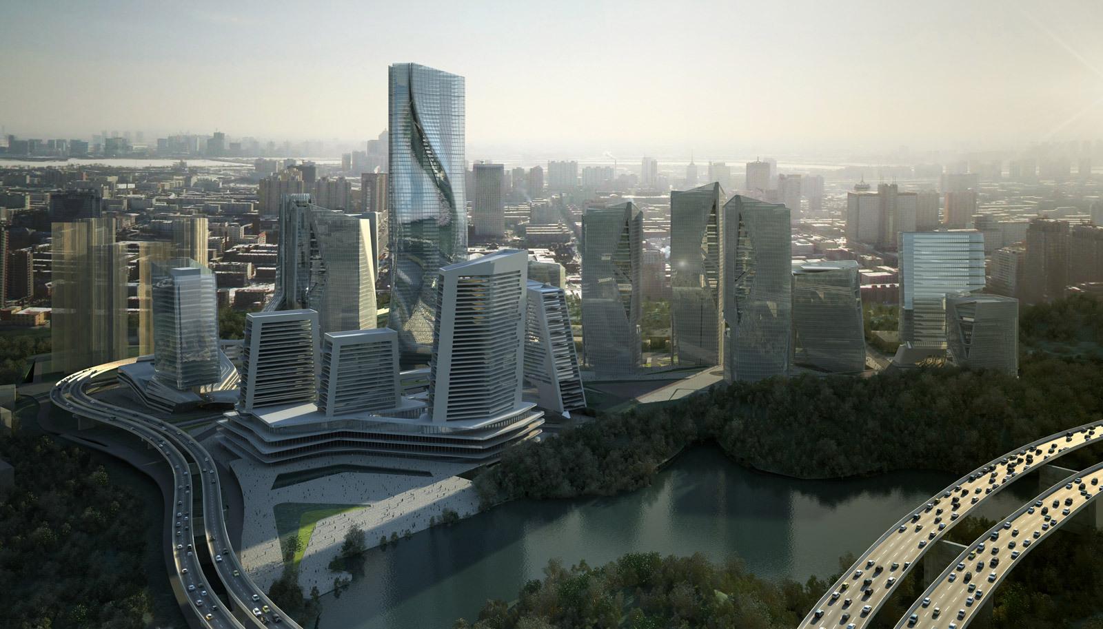 Gallery of yabao hi tech enterprises headquarter park 10 - Hightech architektur ...