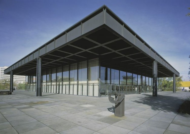 renovation of berlin s neue nationalgalerie david chipperfield archdaily. Black Bedroom Furniture Sets. Home Design Ideas