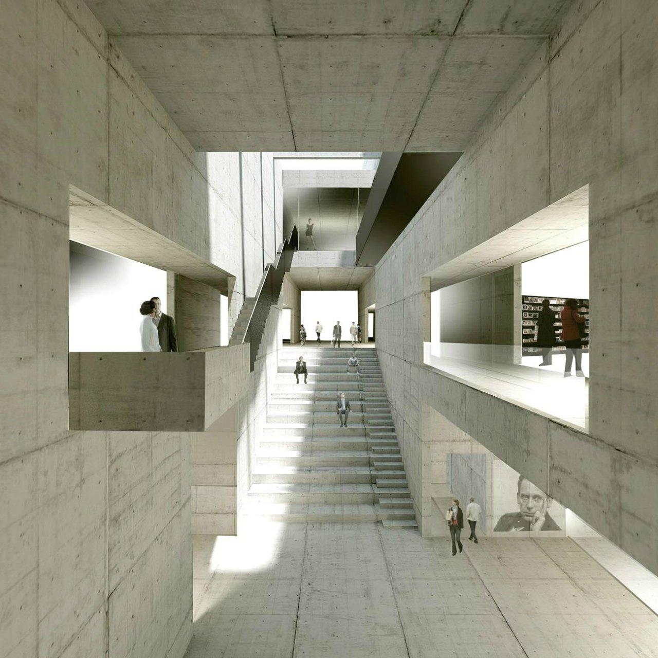 Gallery of new bauhaus museum architekten hrk 2 for Innenarchitektur weimar