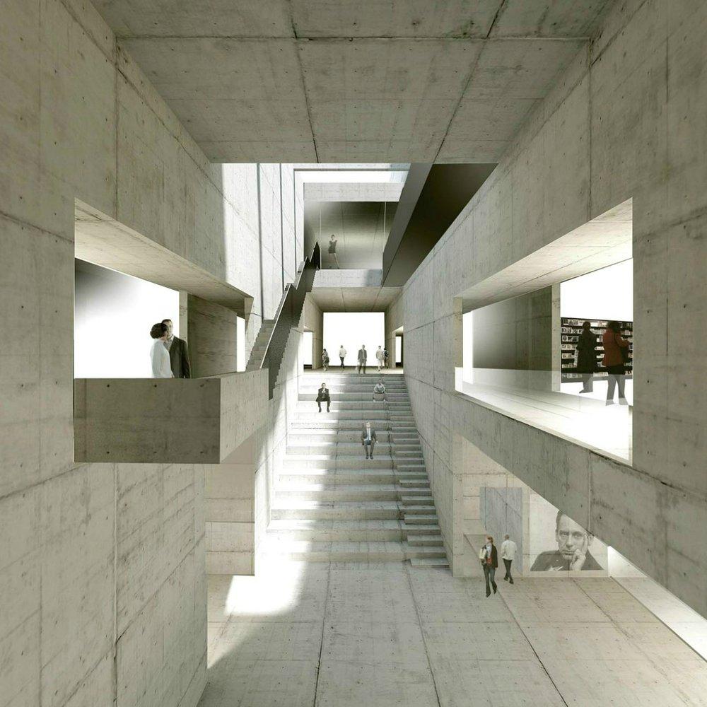 Architekten Bauhaus gallery of bauhaus museum architekten hrk 2