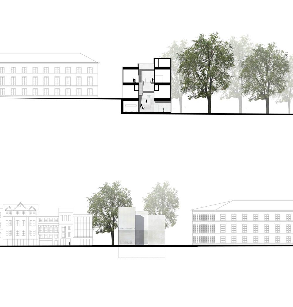 gallery of new bauhaus museum architekten hrk 4. Black Bedroom Furniture Sets. Home Design Ideas