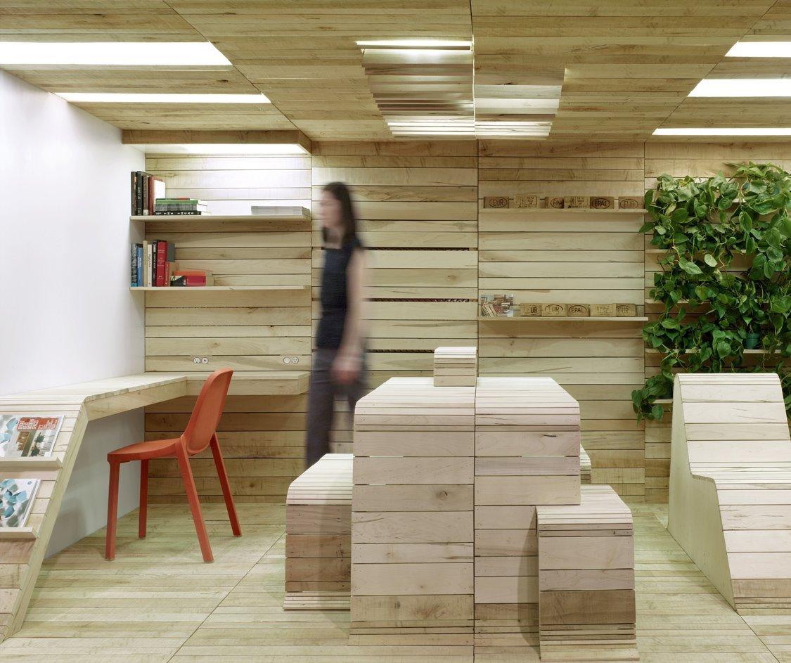 office pop. POP-UP Office Installation / Dubbeldam Architecture + Design Pop Y