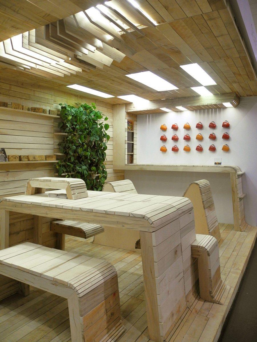 office pop. popup office installation dubbeldam architecture design archdaily pop g