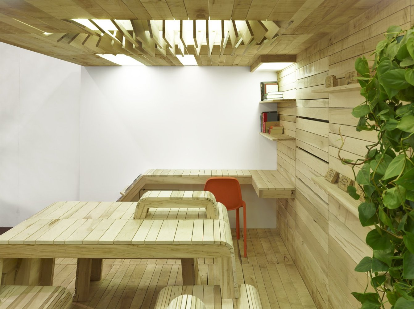 office pop. popup office installation dubbeldam architecture designcourtesy of pop 0