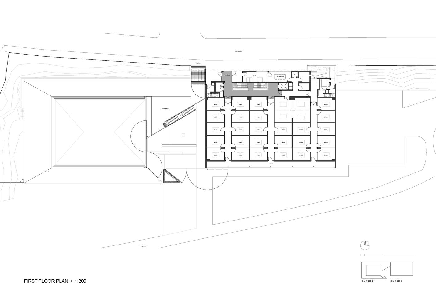 Gallery of Making Space for Making Art Sutherland Hussey Harris 16 – Making Floor Plans