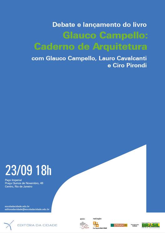 Lançamento do livro sobre Glauco Campello no Rio de Janeiro