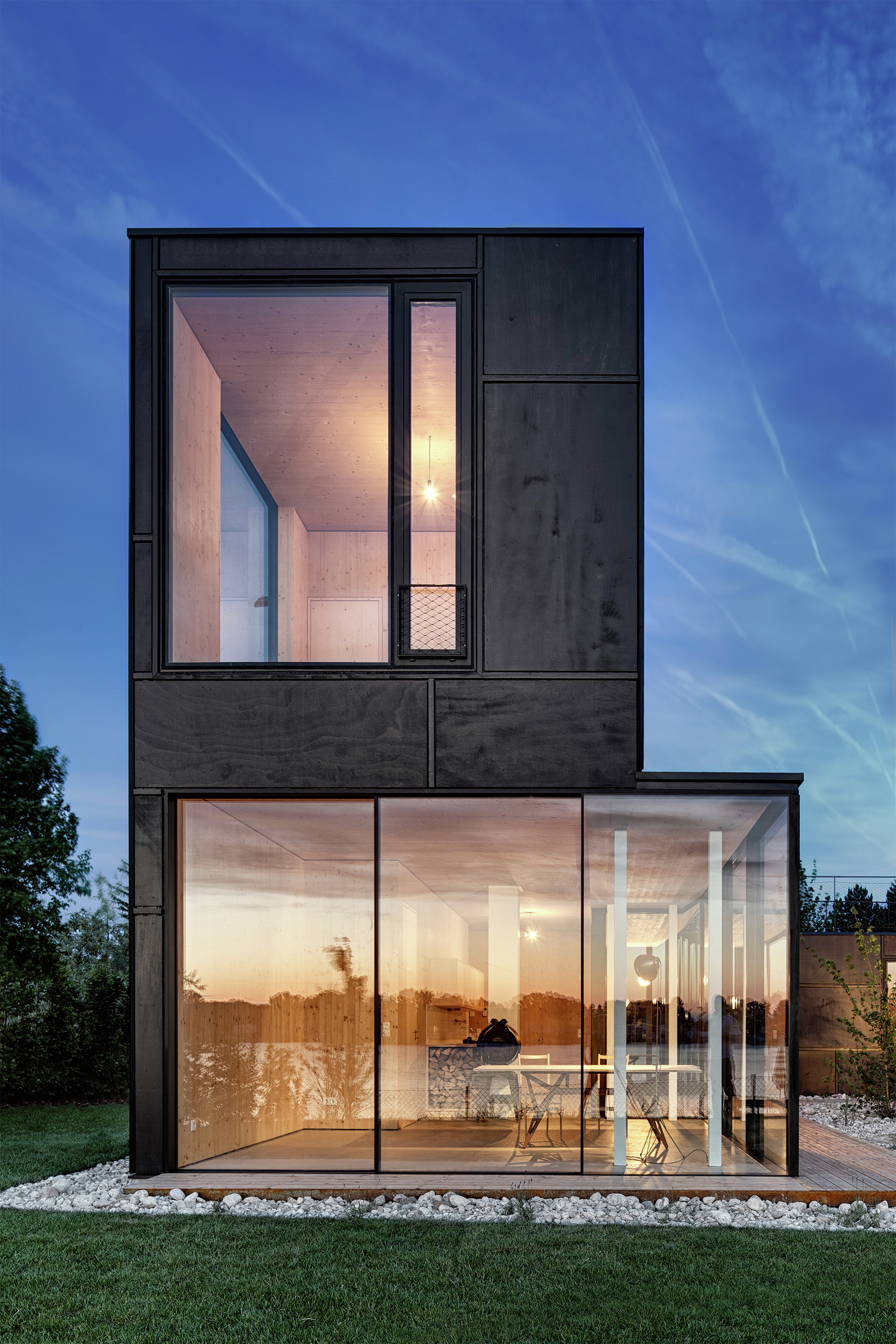 lake house maximilian eisenk ck archdaily. Black Bedroom Furniture Sets. Home Design Ideas