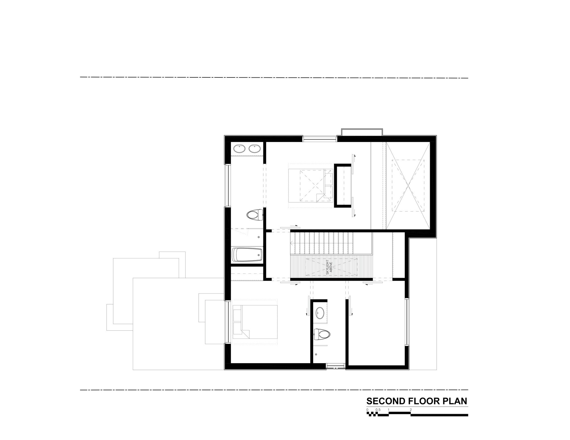 Gallery of thorax house rzlbd 14 for Second floor plans home