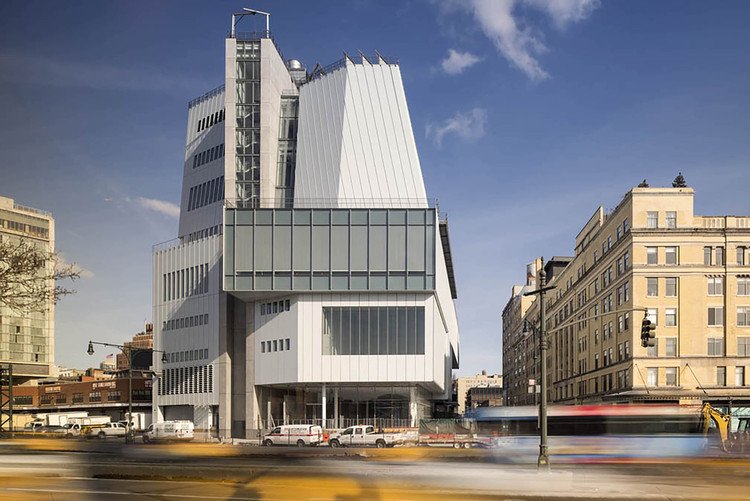 Spotlight: Renzo Piano, The Whitney Museum. Image © Nic Lehoux